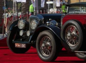 Emirates Classic Car Festival Shereen Shabnam