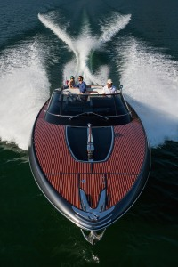"Sarnico, Lago di Iseo, Italy, 13 May 2016 The new Riva ""Rivamare"" 38 feet Ph: Guido Cantini / Sea&See.com"