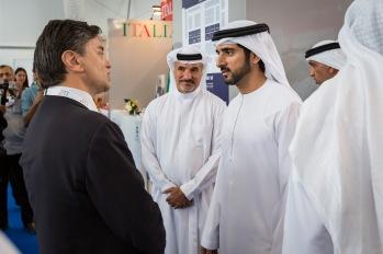 1 Image_Sheikh Hamdan bin Mohammed bin Rashid Al Maktoum and Italian Trade Commissioner
